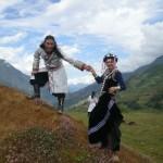 Pripadnika etnične skupine Lisu