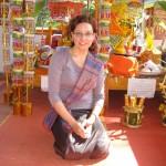 V budističnem templju