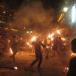 Festival ognja, Dali