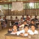 Poučevanje na vaseh v Laosu