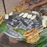 Pečen lepljiv riž