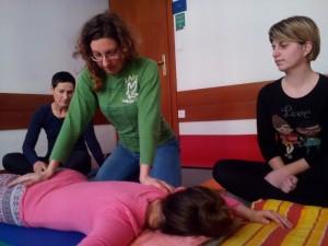 Shiatsu masaža tečaj